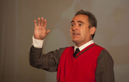Keynote speaker Igno van Niekerk